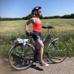 Fajna baba rower